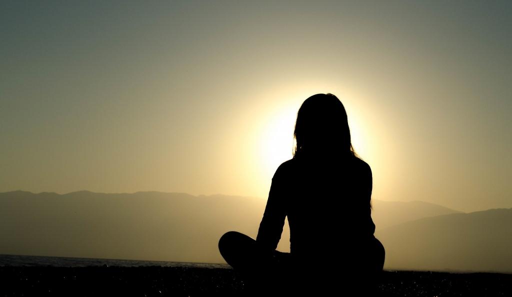 Thinking-Person-sunset